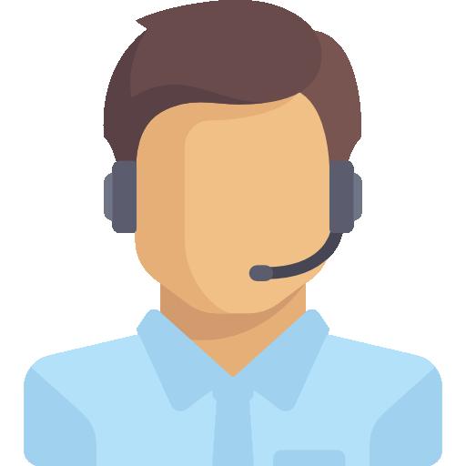Icone d'assistant téléphonique
