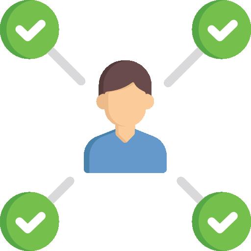 icone d'analyse et checklist de besoins
