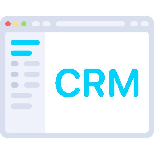 Icone de logiciel CRM EDP Microsoft