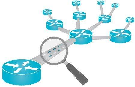 Schéma d'un sniffeur et de la surveillance réseau