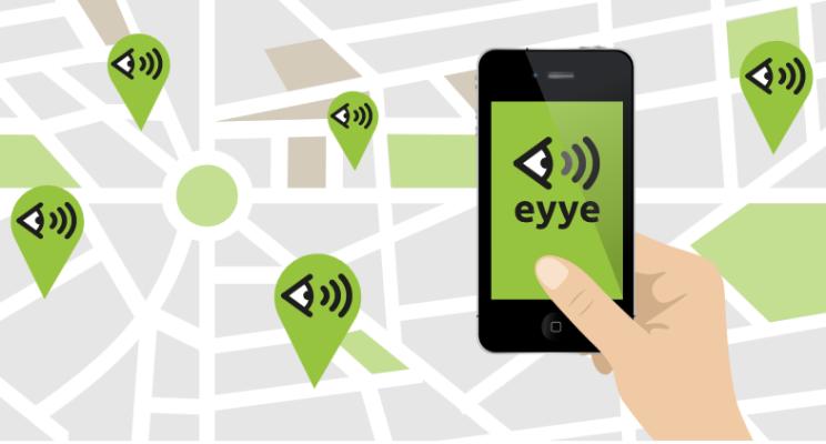 App Eyye pour smartphone
